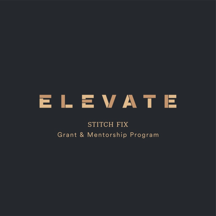 Stitch Fix Elevate Grant & Mentorship Program headline.